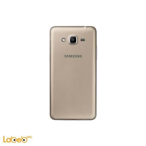 Galaxy grand prime plus smartphone back 8GB 5inch Gold color