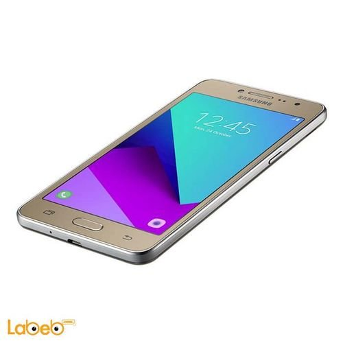 Galaxy grand prime plus smartphone 8GB 5inch Gold color