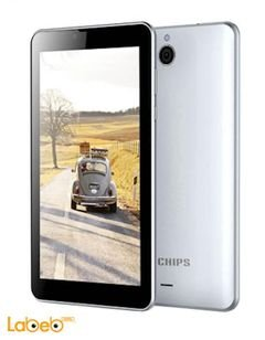 Tichips T702 plus tablet - 16GB - 7inch - 3G - Dual sim - Gold