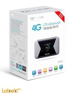 TP link LTE Advanced Mobile Wi-Fi - 2000mAh - black - M7310 model