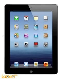 Apple ipad wifi cellular - 16GB - 4G - Black - MD366ZP/A