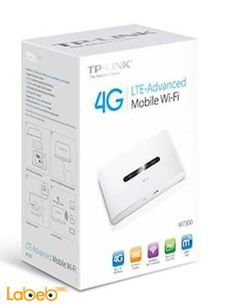 TP link LTE Advanced Mobile Wi-Fi - 2000mAh - White - M7300 model