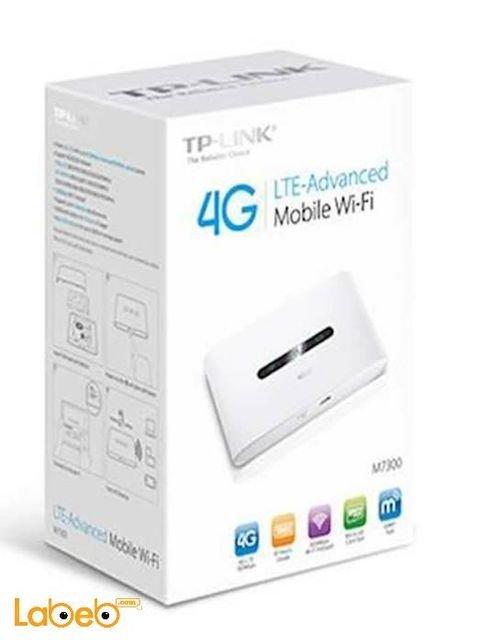 TP link LTE Advanced Mobile Wi-Fi 2000mAh White M7300 model