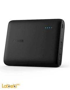 Anker PowerCore - 10400mAh - 2 USB Ports - Black - A1214011