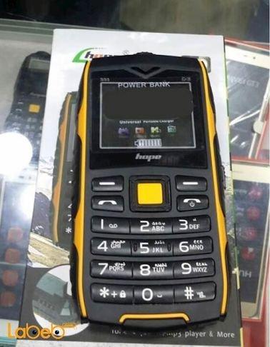 موبايل وبطارية محمولة hope mobile سعة 20000mAh موديل S55
