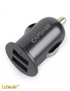 Capdase Dual Usb Car Charger 2.1 - Universal - Black - Pico F2s