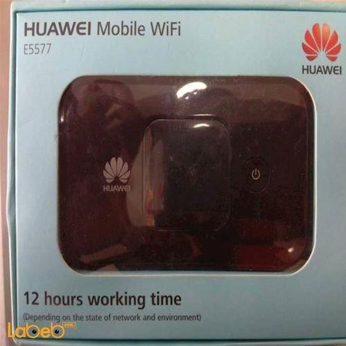 راوتر هواوي واي فاي 4G سعة 3000mAh أسود E5577S-932