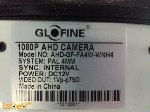 كاميرا مراقبة خارجية Glofine  AHD-GF-FA4W-WNH4 عدسة 4 ملم
