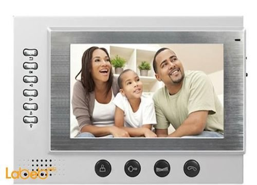جهاز انتركوم صوت وصورة Ultra-Thin شاشة 7 انش TFT موديل DP-701R