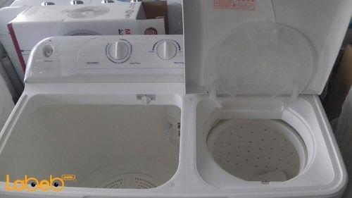 White Crony Twin Tup washing machine 12kg