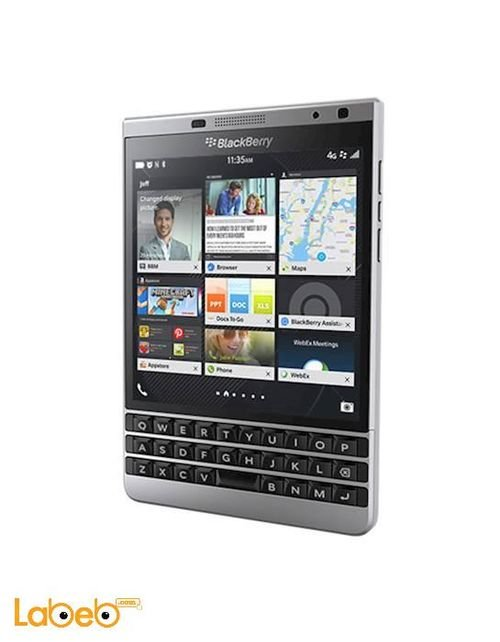 BlackBerry Passport smartphone Silver color