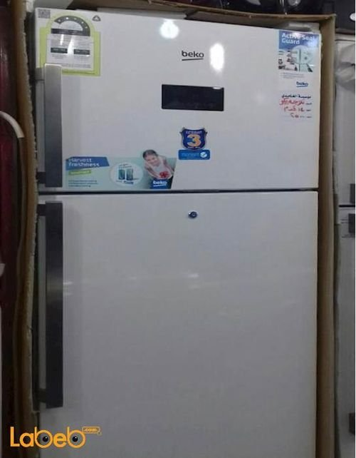 Beko Refrigerator top freezer 14 CFT White
