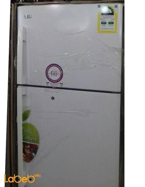 White ROLLC Refrigerator top freezer 16 CFT RFD670MNW