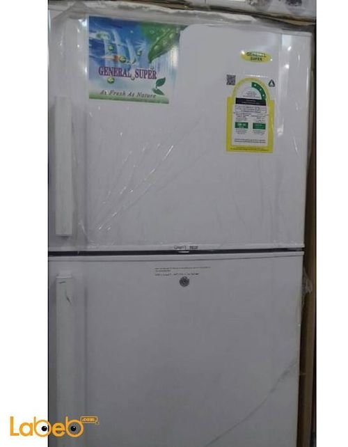 General Refrigerator top freezer 13 CFT White GS410