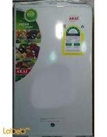 واجهة ثلاجة مكتب AKAI سعة 125 لتر لون ابيض