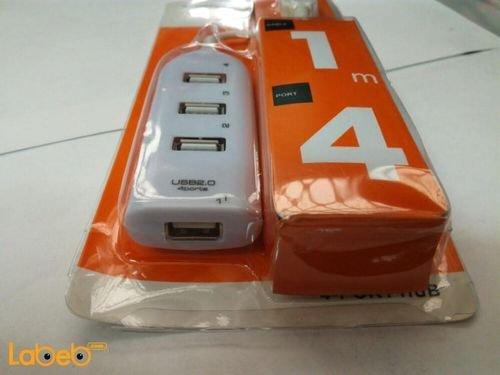 موزع USB 2.0 عالي السرعة 4 منافذ 1 متر