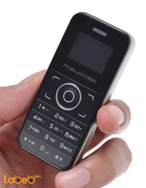 Melrose mini mobile one sim card Black Micro SD
