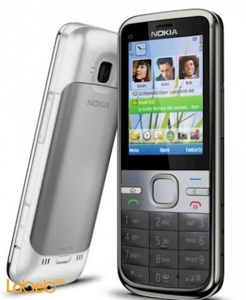 Nokia c5 mobile 50MB 2.2inch Black color