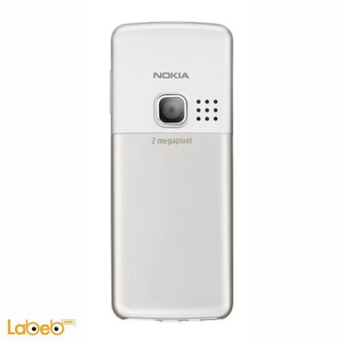 Nokia 6300 mobile 7.8MB 2 inch 2MP White color