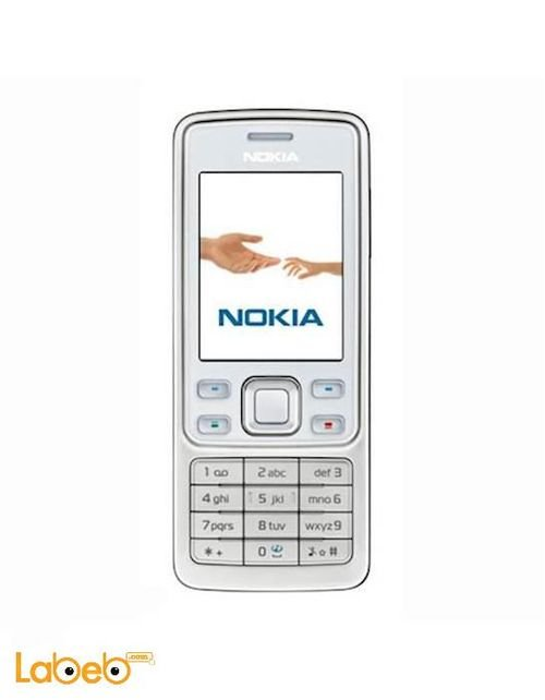 Nokia 6300 mobile 7.8MB 2 inch White color