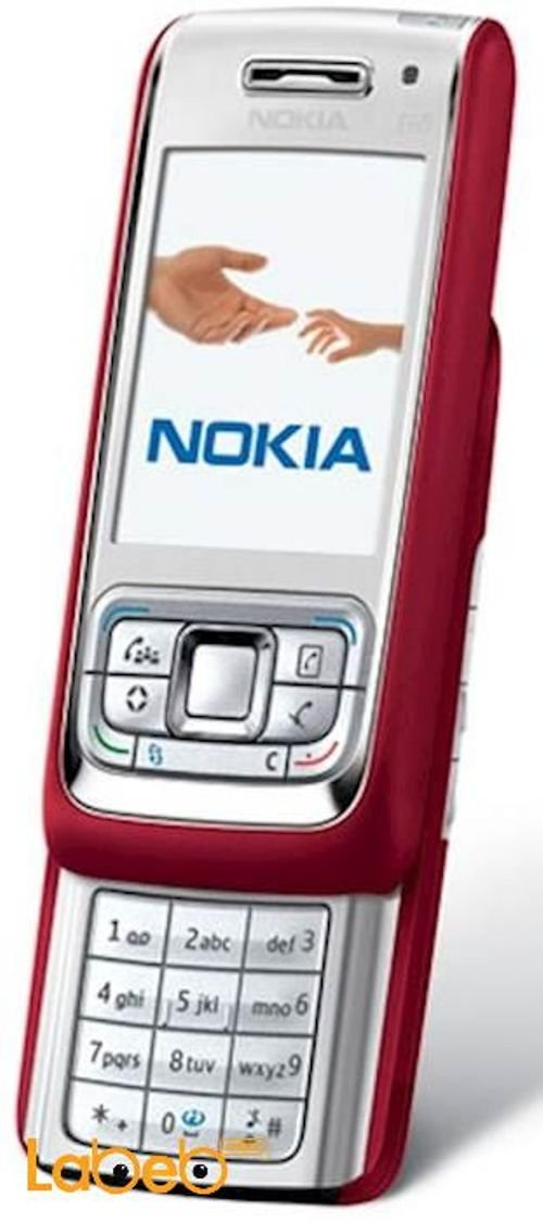 Nokia E65 mobile 50MB 2.2inch  Red color