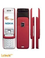 Nokia E65 mobile Red color