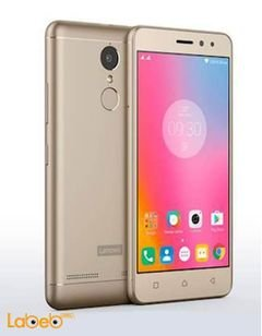 Lenovo K6 smartphone - 16GB - 5 inch - 13MP - Gold color