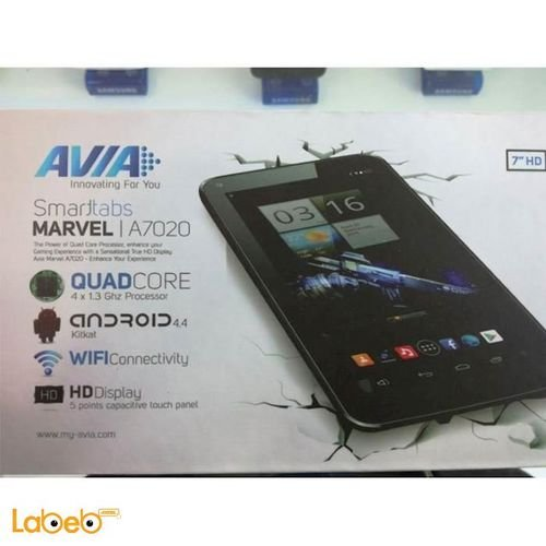 Avia smarttabs Marvel 4GB 7inch black color A7020 model