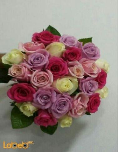 Bride Bouquet Holder - Rose - Fuschia - pink - yellow - purple