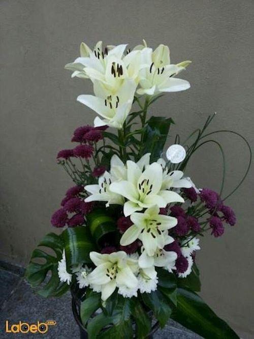 بوكية زهور مصمم من ليليوم زهرة كريز خضارات هولندية