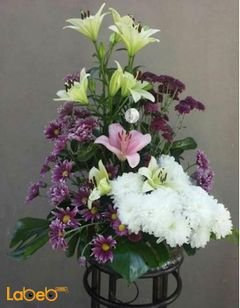 Flowers bouquet - designed from laly - Craze - Monstera deliciosa