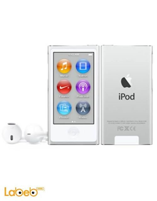 Apple iPod nano Silver color A1446 model