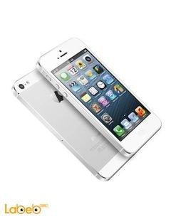 موبايل ايفون 5S ابل - ذاكرة 32 جيجابايت - لون فضي - iPhone 5S