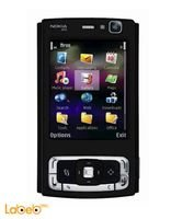 Nokia N95 mobile 160MB 2.6 inch Black color