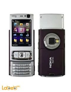 Nokia N95 mobile - 160MB - 2.6 inch - 5MP - Purple color