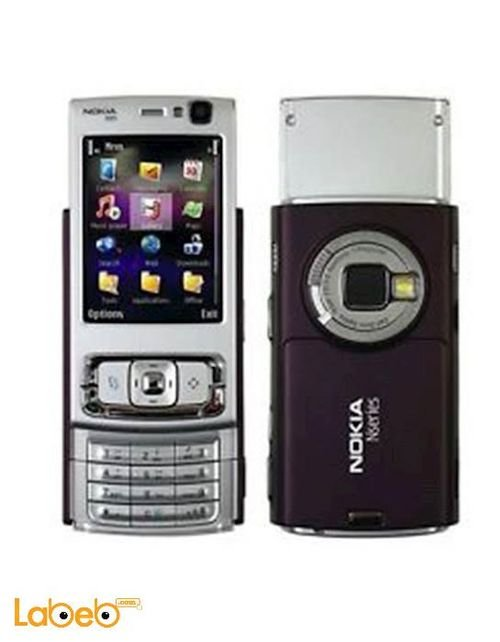 Nokia N95 mobile 160MB 2.6 inch 5MP Purple color