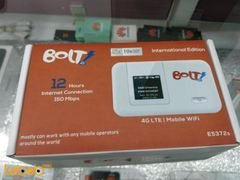 Bolt 4G LTE mobile wifi - 150mbps - 12 hours - white - E5372s