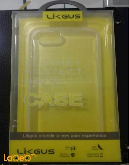 Likgus mobile back cover for iPhone 7 smartphone transparent