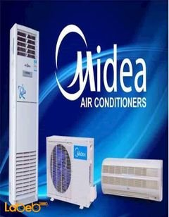 Midea split Air conditioner - 1 tons - Msmbbu-24hrfn1-qrdogw