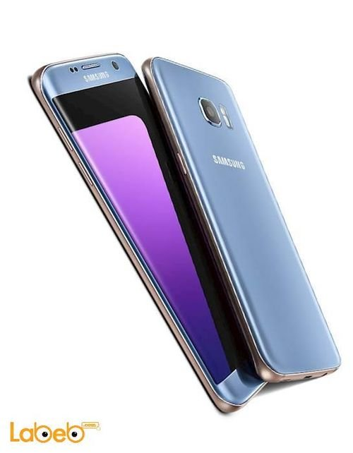 Blue Samsung Galaxy S7 edge smartphone 32GB 5.5inch