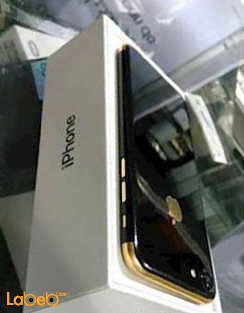 موبايل ايفون 7 ابل 128 جيجابايت 4.7 انش لون اسود مطلي بالذهب