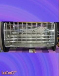 مدفئة كهربائية كونتي - 2100 واط - 3 عناصر حرارة - أسود - HC-2015