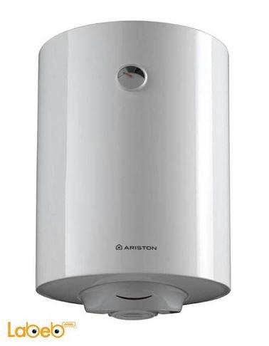 سخان مياه كهربائي أريستون - 80 ليتر - أبيض - موديل PRO R