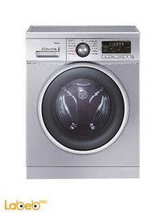 General tech Front Load Washing Machine - 7kg - silver - Gtw701400s