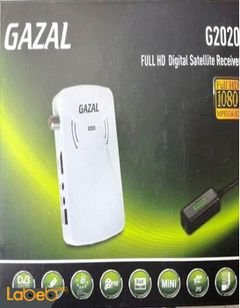 GAZAL Full HD Digital Satellite Receiver - 1080P - white - G2020