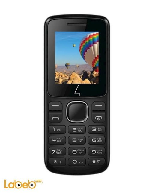 Four mobile B102 phone 32MB 1.8INCH Black B102 model