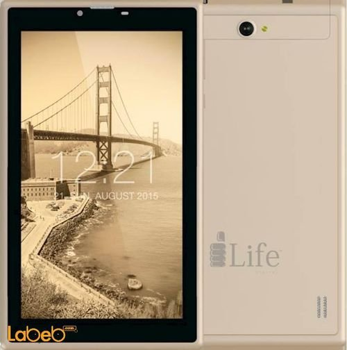 iLife iTell Tablet 8GB 7inch 3MP 3G gold K3400iQS