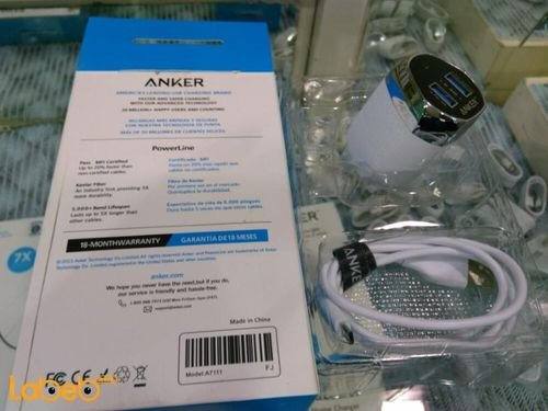 specifications Anker home Charger A7111