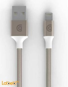 Griffin reversible USB Charge / Snyc Cable - 3 m - Gold - GC40906