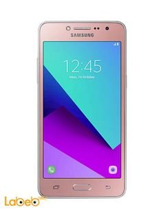 Galaxy grand prime plus smartphone - 8GB - 5inch - Pink color